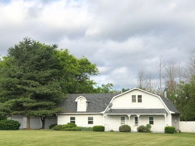 Photo for 2,270 Sq. Ft. Home on 4 acre lot, 1 mile from Grand Park, sleeps 16+