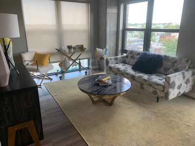 Photo for Great Industrial 2BR Apartment near National Mall in DC!