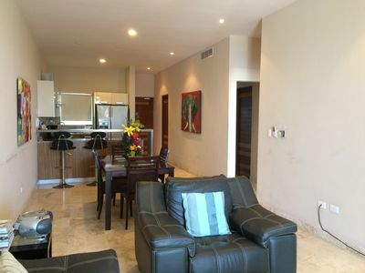 Photo for 2 bedroom condo perfectly located in the coolest place Playa del Carmen