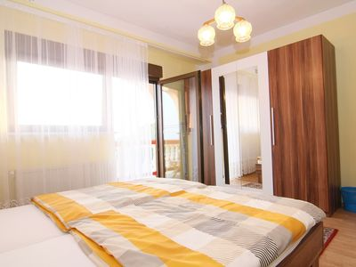 Photo for Double room with breakfast, bathroom, balcony, sea view, swimming pool, air conditioning, wi ...