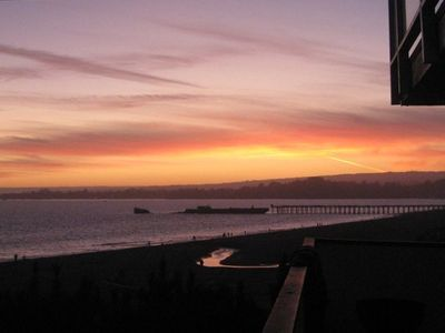 Photo for Amazing Ocean & Beachfront View 45 Steps Aptos Sandy Beach!