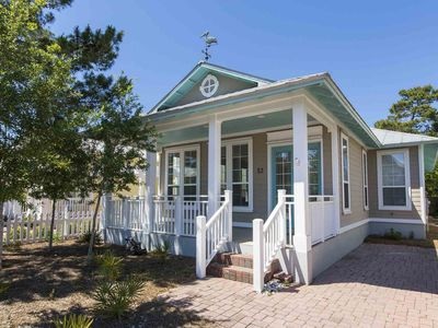 Photo for Private Beach Home in Seagrove Beach. Community Pool and Tennis Courts. Short Walk to Beach!