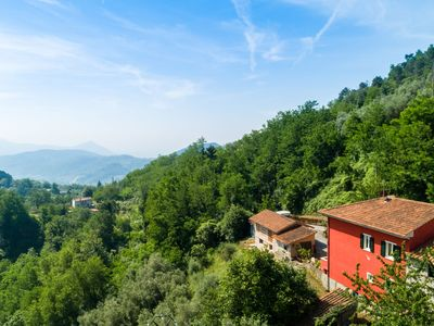 Photo for Spacious Holiday Home in Marliana Italy with Private Garden