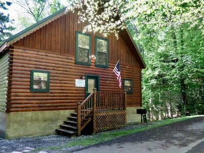 Photo for PRIME LOCATION -Peaceful Paradise! Directly between Pigeon Forge & Gatlinburg