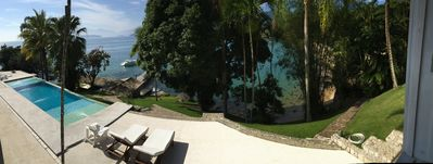 Photo for Wonderful and spacious house in Angra - foot in the sand and spectacular view