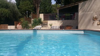 Photo for Detached house with private pool in Le Cannet, 5 minutes from the sea of Cannes,