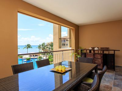 Photo for Private suite in oceanfront resort w/ shared pool, upscale finishes