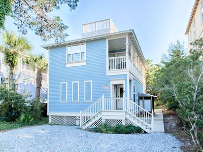 Photo for Beautiful Gulf Place Home Steps From Beach! Balcony Views! '30A Beach Life'