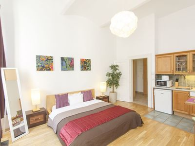 Photo for Great centrally located studio apartment, close to Old Town and Wenceslas Square