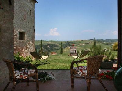Photo for WONDERFUL APARTMENT IN TUSCANY  NEAR SIENA