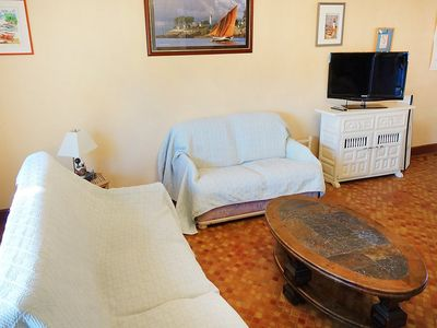 Photo for House 373 m from the center of Arzon with Parking, Washing machine, Garden (92677)