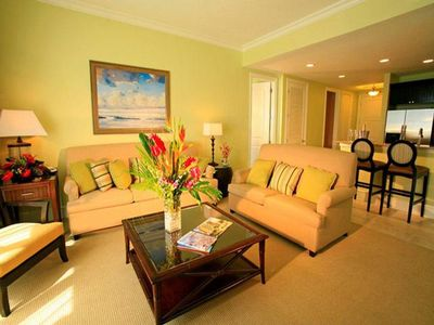 Upscale accomodations on Clearwater Beach.