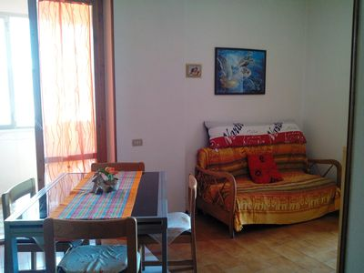 Photo for Comfortable apartment with sea view