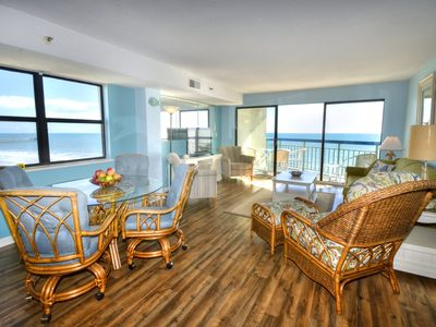 Photo for Immaculate spacious oceanfront condo with amazing views all around.