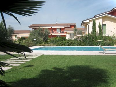 Photo for Holiday apartment Apartment with pool and air conditioning