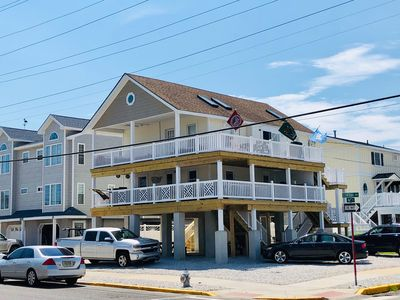 Photo for Comfortable Condo with Huge, New Wrap-Around Deck. 5 Minute Walk to the Beach