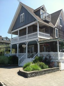 Photo for Victorian Home with Heated Pool, Great for Large Groups, 1 Block to Beach!!!