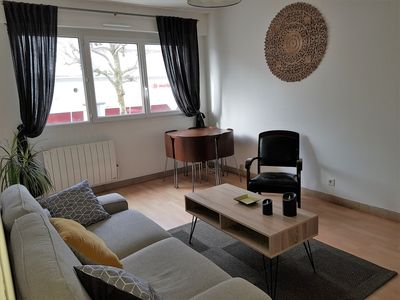 Photo for Bright apartment - 4 people - 300 m from the large beach - All shops