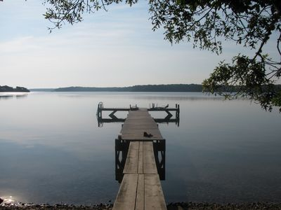Long Pond dock, early morning