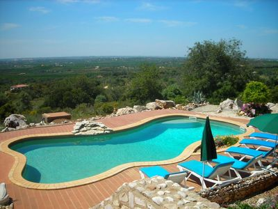 Photo for Large villa in 3 acres, fantastic views, own secluded pool, peaceful