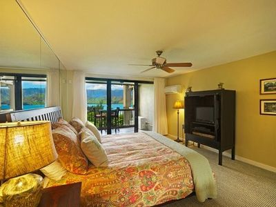 Photo for Hotel Room with Amazing View of Hanalei Bay
