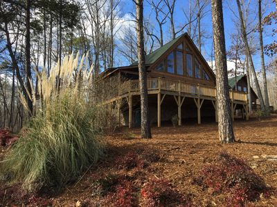 Photo for LAKE KEOWEE LAKEVIEW CABIN WITH DOCK CLOSE TO CLEMSON