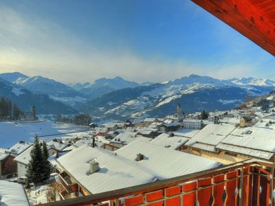 Photo for 2.5 room roof apartment in Falera with stunning view, additional gallery