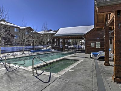 Photo for Winter Park Condo w/Hot Tub, Pool & Mountain Views