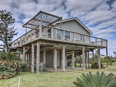 Photo for Updated Galveston Home w/ Deck - 150 Ft. to Beach!