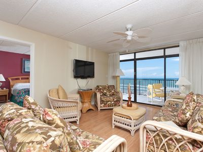 Photo for 807 - Serious Relaxing-Beachfront Condo