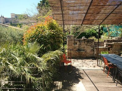 Photo for Center Grignan, House of 170 m2 with garden and breathtaking views of the Castle