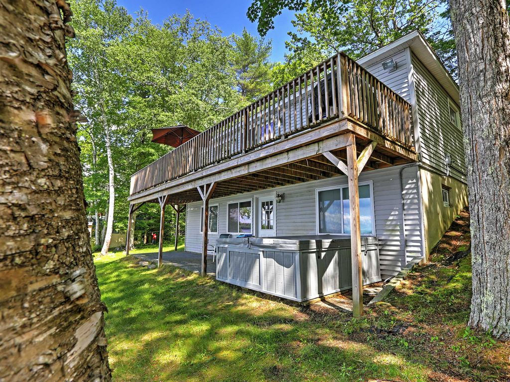 Updated 3br winthrop cabin w deck winthrop kennebec for Winthrop cabin rentals
