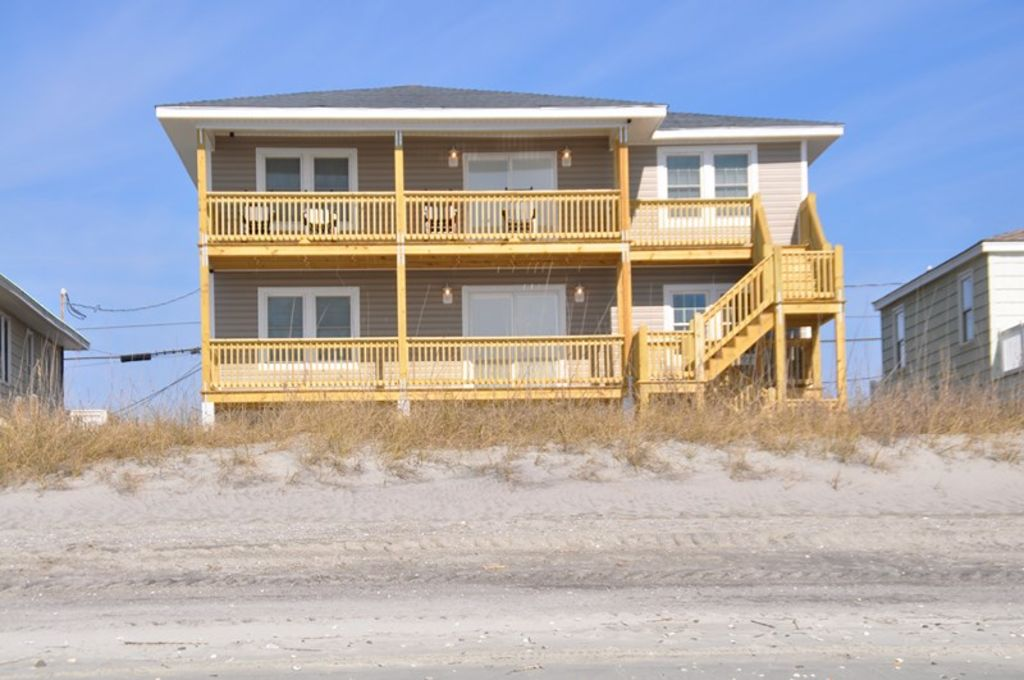 oceanfront pet friendly house cherry grove  north myrtle