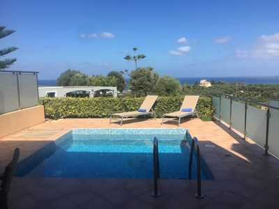 Photo for Villa With Sea View, Breakfast included, 800 Metres From Sandy Beach, Playground