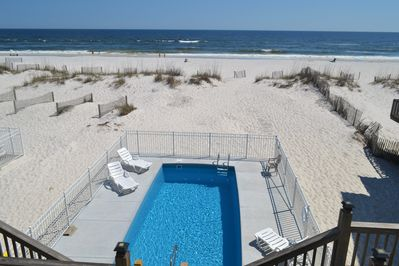 Brand new pool!! While you relax in the pool you can enjoy the ocean view...