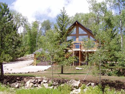 Photo for NOVEMBER RATE I99 A NIGHT  CUSTOM CABIN LOCATED ON TERRY PEAK CLOSE TO DEADWOOD!