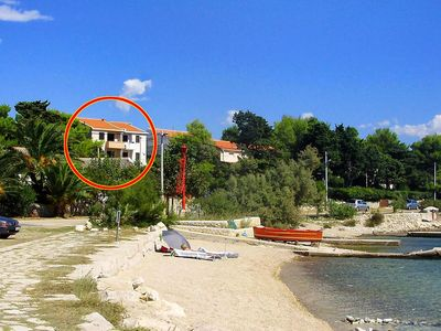 Photo for One bedroom apartment with terrace Košljun (Pag)