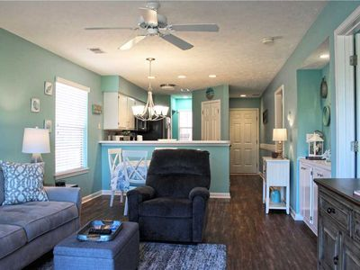 Photo for Beautifully Furnished First Floor Unit!! Backs Up To The Inter-coastal Waterway!