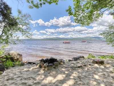 Photo for NEW LISTING! Lakefront home w/ views, water access for boating/swimming & more