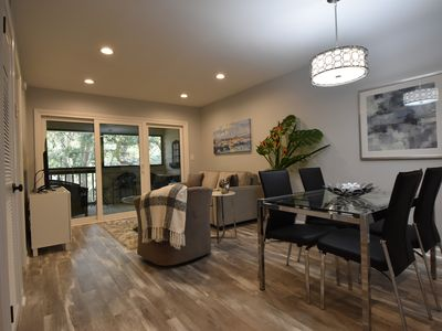 Photo for Beautiful Contemporary Oceanview Condo Steps from the Beach