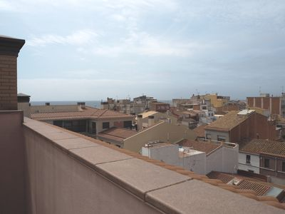 Photo for Duplex in the center of Malgrat with parking. WiFi. 5 minutes from the beach.