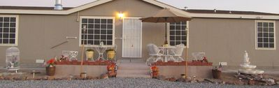 Photo for 3 ROOMS, (2 QUEEN BEDS, DEN,) 2 PRIVATE BATHS, EASY TO DEATH VALLEY, FRONT SIGHT