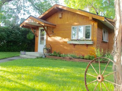 "Photo for ""Rocky Mountain Getaway"", Beautiful historic downtown home"