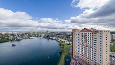 Photo for 2 Bedroom Condo at Highrise Walking distance to UNIVERSAL