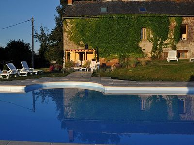 Photo for Maison Safran, a stunning farm house, with private pool and garden