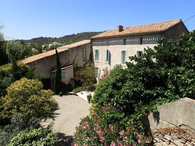 Photo for Beautiful traditional french house with self contained Gite and pool