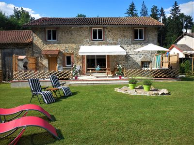 Photo for Tranquil haven in the Perigord National Park - stunning detached renovated barn