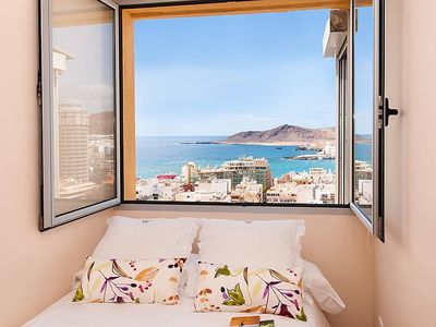 Photo for Apartment Piso 15 cerca de Las Canteras  in Las Palmas, Gran Canaria - 4 persons, 2 bedrooms