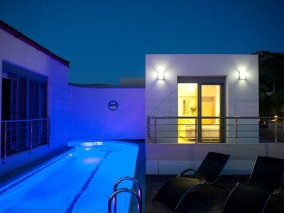 Photo for This 2-bedroom villa for up to 6 guests is located in Chania Region and has a private swimming pool,