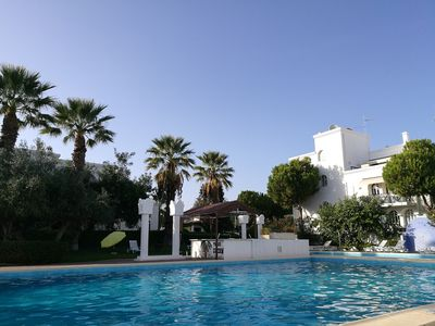 Photo for Tavira Gardens, Spacious, attractive two bed two bathroom apartment with pools